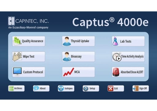 Absorbed Dose ALERT Software for Captus 4000e