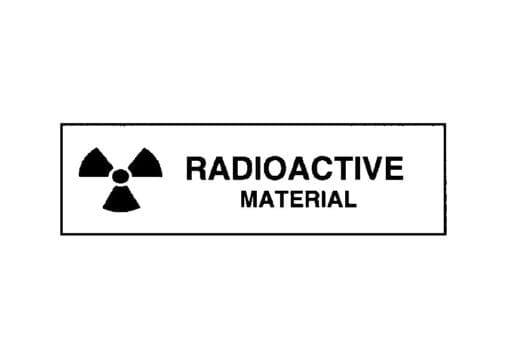 Radioactive Material Roll