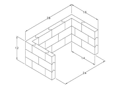 Interlocking Lead Brick Kit