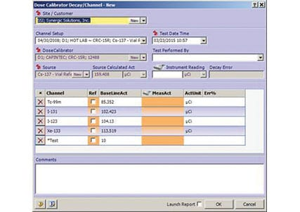 Optility Nuclear Medicine Management Software