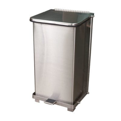 12 Gallon Stainless Steel Waste Can